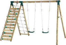 Plum Uakari Holz Schaukel- und Kletterset