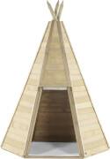 Plum® Indianer Tipi aus Holz, 230 cm hoch