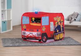 Feuerwehrauto Sam mit Blaulicht
