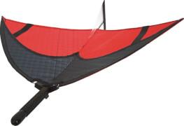 Airglider Easy, Rot/Schwarz