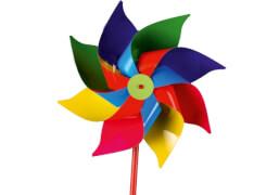 Windmühle Knallfarben