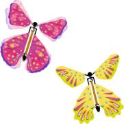 Flatternder Schmetterling Bunte Geschenke,