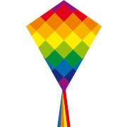 Ecoline: Eddy Rainbow Patchwork 70 cm