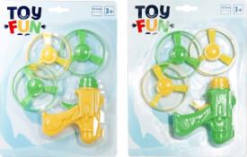 Toy Fun Flugkreisel Pistole, verschiedene Varianten
