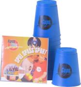 FlashCups (12 St.) inkl. DVD, blau