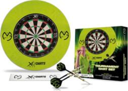 XQ-Max MvG Bristle Dart Board Set