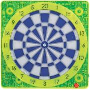 Carromco Smartness Online Connect Dartboard Square-501, Gelb