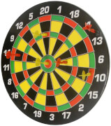 Dartboard Magnet Set Family inkl. 6 Pfeile