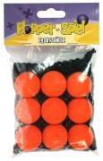 Orange Ersatzbälle - 9er