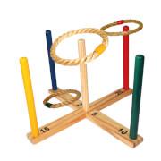 Schildkröt Funsports - RINGWURFSPIEL (1 Wurfkreuz 38x38x21cm, 5 Wurfringe)
