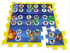 Puzzlematten Buchstaben 9-teilig PE-Schaum