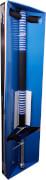 New Sports Pogo Stick, blau/schwarz, Höhe 95 cm, ca. 95x23,5x5,5 cm, belastbar bis 45 kg, ab 6 Jahren