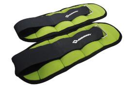 Schildkröt Fitness - GEWICHTSMANSCHETTE, 2x 0,5kg, (green) im Carrybag