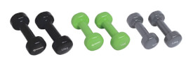 Schildkröt Fitness - VINYL-HANTELSET im ABS-Kunststoffkoffer,