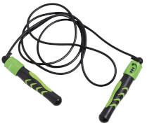 Schildkröt Fitness - JUMP ROPE (black-green), mit Zählwerk, in 4C Hanger Box,