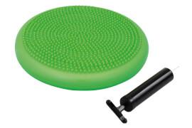 Schildkröt Fitness - BALANCE-KISSEN, (green), inkl. Handpumpe,