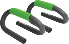 Schildkröt Fitness - PUSH UP BARS, 2 Liegestützengriffe, (grey-green)