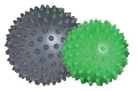 Schildkröt Fitness - MASSAGE BÄLLE im 2er Set  (green-grey)
