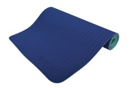 Schildkröt Fitness - BICOLOR YOGA MATTE 4mm (navy-mint) im Carrybag