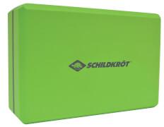 Schildkröt Fitness - YOGA BLOCK (Schaumstoff, green-grey)