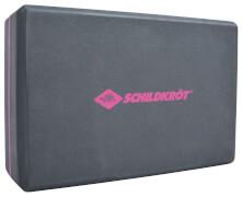 Schildkröt Fitness - YOGA BLOCK (Schaumstoff, grey-pink)