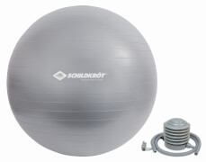 Schildkröt Fitness - GYMNASTIKBALL 65cm, (silver)