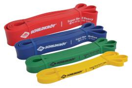 Schildkröt Fitness - SUPER BANDS SET (4-teiliges Set Widerstandsbänder) in 4C Box