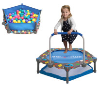 Trampolin 3in1 90cm für Kinder