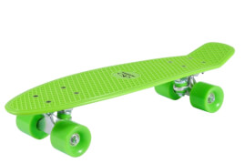 Hudora 12136 - Skateboard Retrolemon Green, ca. 57x15 cm, ab 6 Jahren