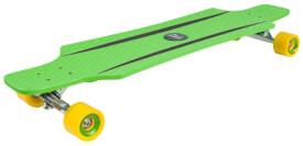 Hudora Longboard CruiseStar, grün/gelb