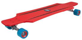 Hudora Longboard CruiseStar, rot/blau