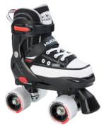 Hudora 22032 - Rollschuh Roller Skate, schwarz, Größe 36-39, ab 3 Jahren