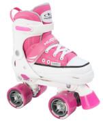 Hudora 22033 - Rollschuh Roller Skate, pink, Größe 28-31, ab 3 Jahren
