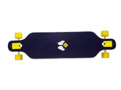 Longboard Freeride ca. 99 cm Design Robot