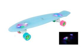 Hudora 12144 - Skateboard Retro Iceglow 27, ca. 71x19 cm, ab 6 Jahren