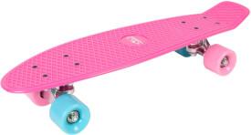 Hudora 12152 - Skateboard Retro Skate Wonders, rosa, ca. 57x15 cm, ab 6 Jahren