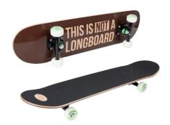 Hudora 12752 - Skateboard Harlem ABEC 7, ca. 78x20 cm, ab 6 Jahren