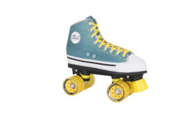 Hudora Roller Skates Green Denim, Gr. 38