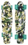 Schildkröt Funsports - Retro Skateboard FREE SPIRIT 22Ž Camouflage