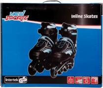 New Sports Inliner Blau, ABEC 7, Größe 39 - 42