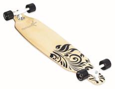 muuwmi Longboard ABEC 7 Wood