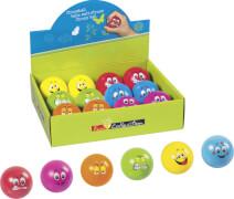 Stressball 6 Motive/Farben