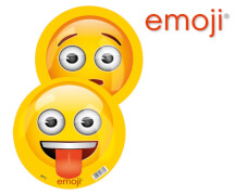 Happy People emoji® Buntball 9 frech-besorgt