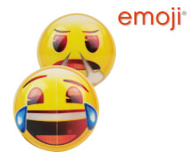 emoji Buntball 4,5 Zoll lachend und wütend
