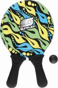 Sunflex Beachball Set FIREWOR, Sport & Outdoor, Gewicht ca. 358 g, Maße ca. 40x22,3x5 cm, ab 6 Jahren