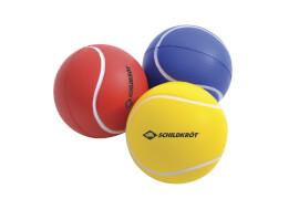 Schildkröt Funsports - Softbälle, 3 Stück Meshbag, (rot, gelb, blau)