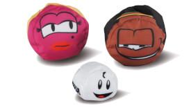 Schildkröt Funsports - CROSSBOCCIA-DOUBLE-PACK HEROES, Design Blond+Muffin