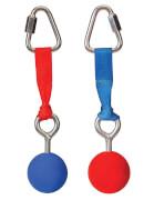 Schildkröt Funsports - SLACKERS NINJA  - Balls, 2 Stück im Set (rot / blau)