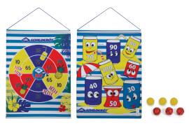 Schildkröt Funsports - ROLL-UP DART SET inkl. 2x3 Bälle im Karton