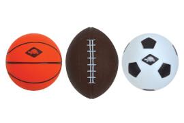 Schildkröt Funsports - 3 in 1 MINI BALLS SET, 1 Soccer-, 1 Basket-, 1 Football